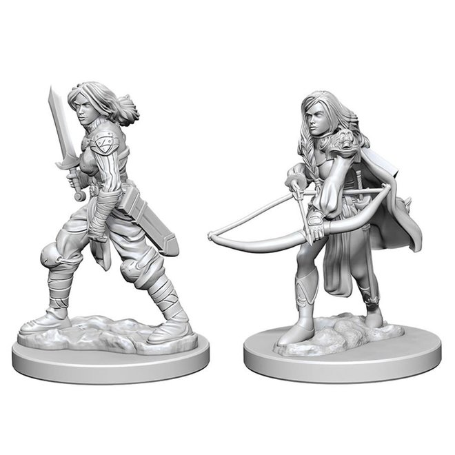 Pathfinder: Human Fighter - Female