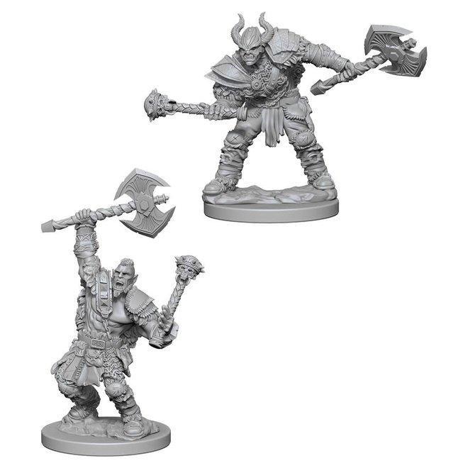 Pathfinder: Half-Orc Barbarian - Male