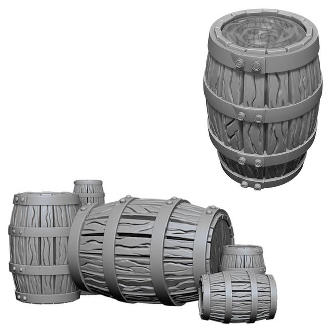 Deep Cuts: Barrel & Pile of Barrels