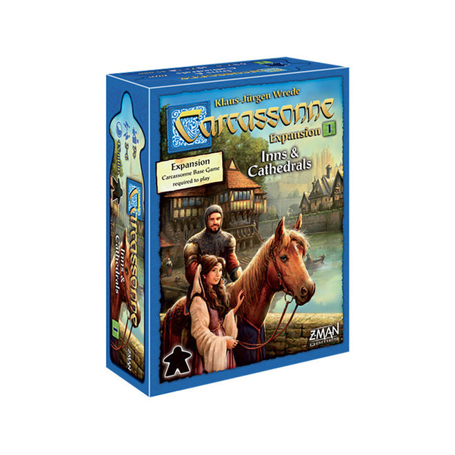 Carcassonne: Expansion 1 - Inns & Cathedrals