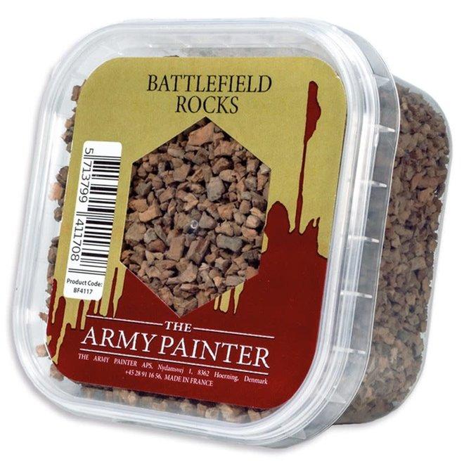 Model Basing - Battlefield Rocks