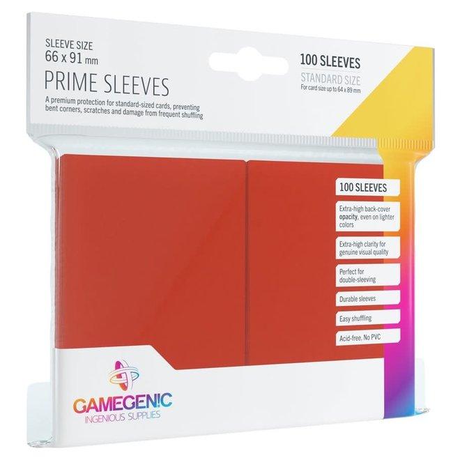 Prime Sleeves - Red