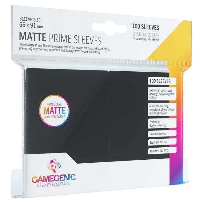 Matte Prime Sleeves - Black