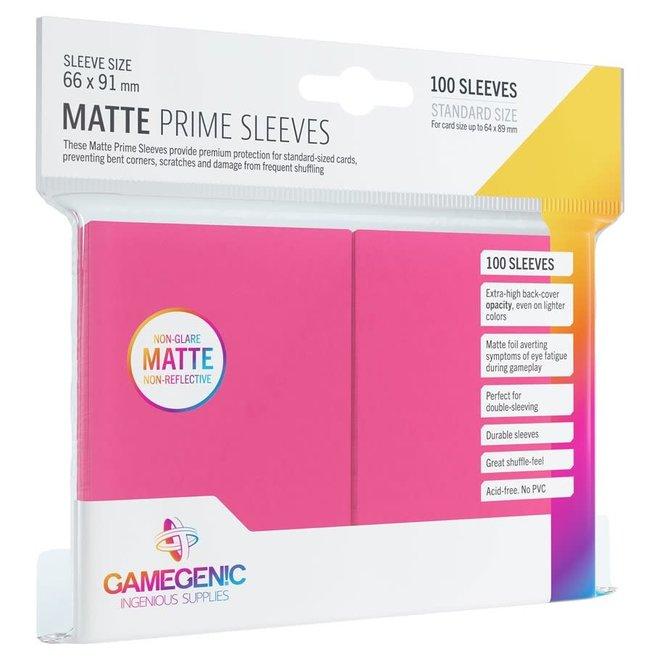 Matte Prime Sleeves - Pink