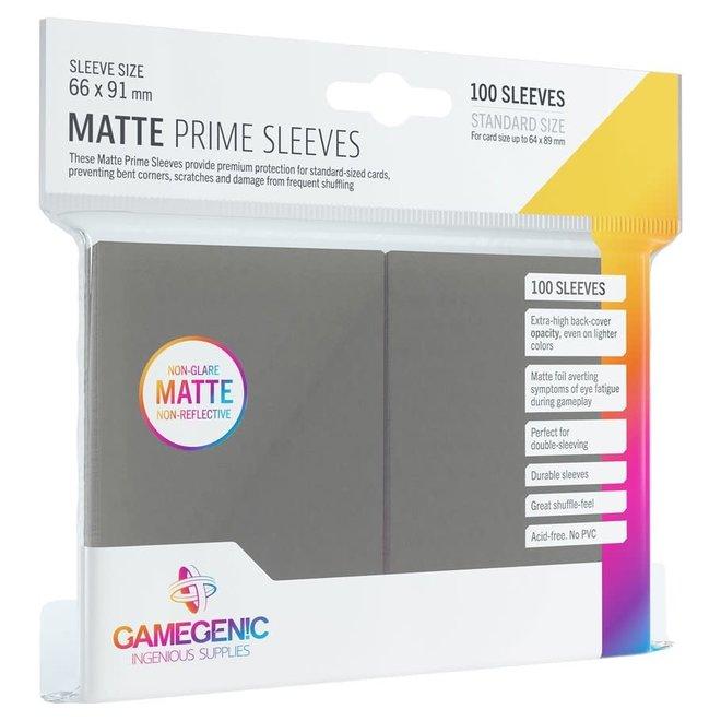 Matte Prime Sleeves - Grey