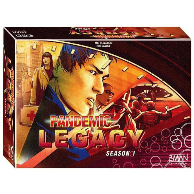 Pandemic: Legacy Season 1 - Red