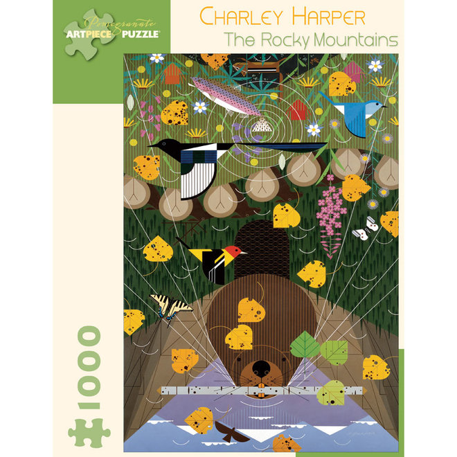 Charley Harper: The Rocky Mountains - 1000 pcs