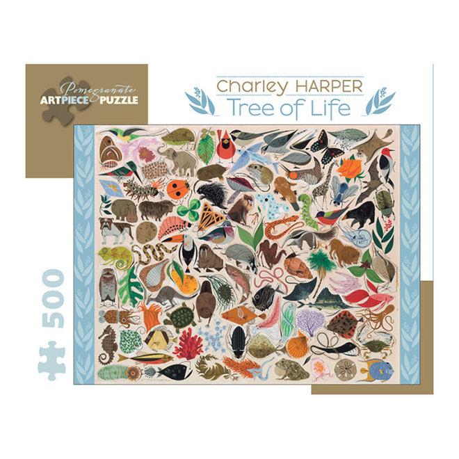 Charley Harper: Tree of Life - 500 pcs