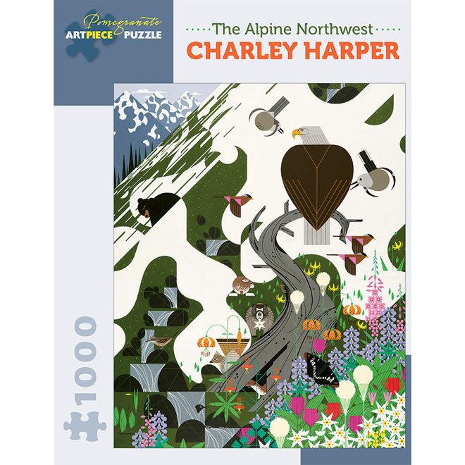 Charley Harper: The Alpine Northwest - 1000 pcs