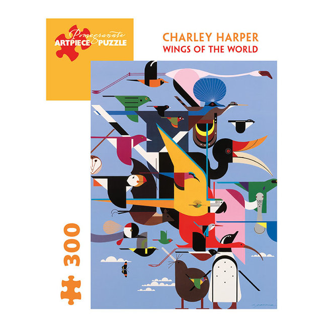 Charley Harper: Wings of the World - 300 pcs