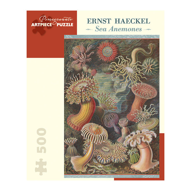 Ernst Haeckel: Sea Anemones - 500 pcs