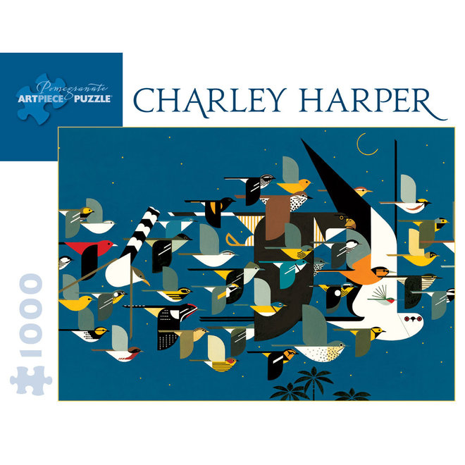 Charley Harper: Mystery of the Missing Migrants - 1000 pcs