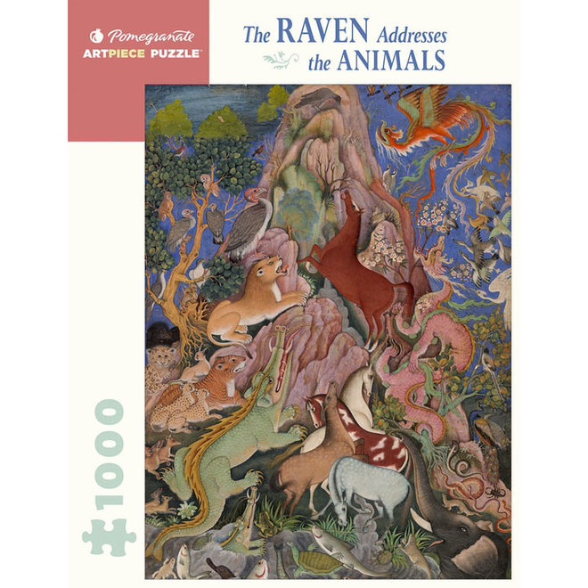 The Raven Addresses the Animals - 1000 pcs