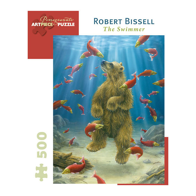 Robert Bissell: The Swimmer - 500 pcs