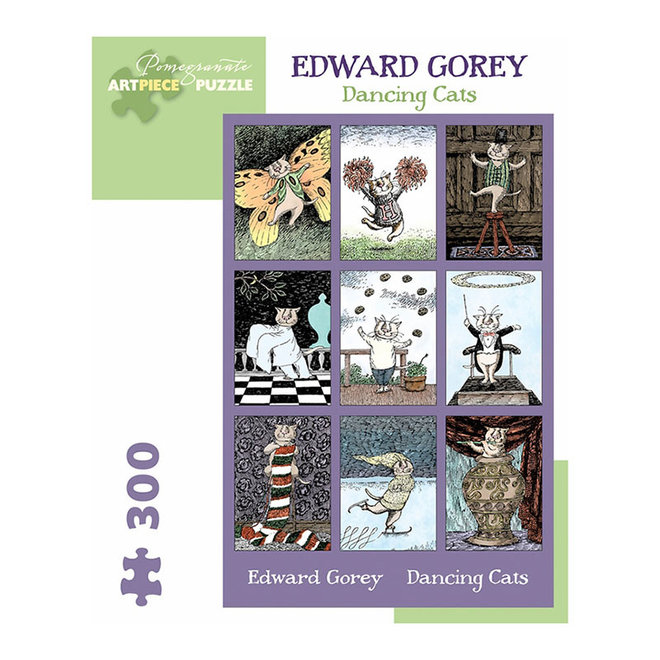 Edward Gorey: Dancing Cats - 300 pcs