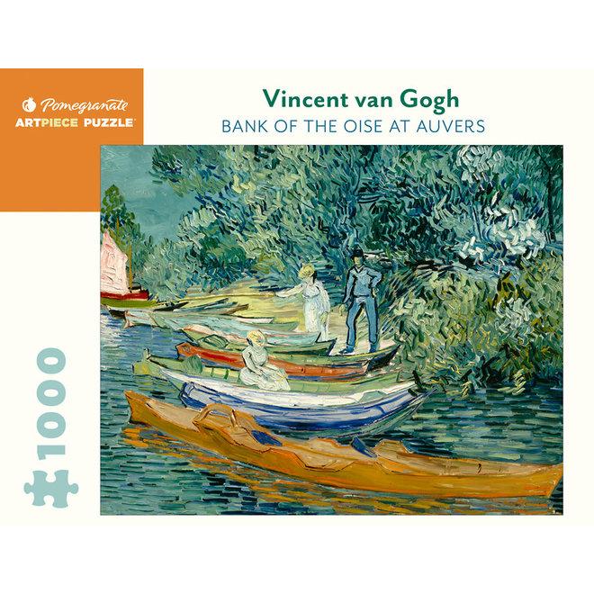 Vincent Van Gogh: Bank of the Oise at Auvers - 1000 pcs
