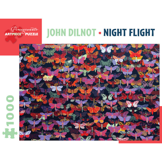 John Dilnot: Night Flight - 1000 pcs