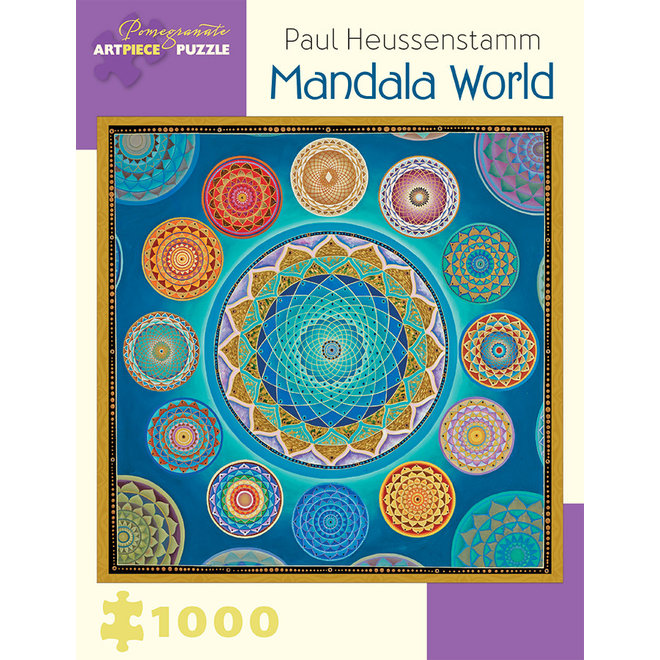 Paul Heussenstamm: Mandala World - 1000 pcs