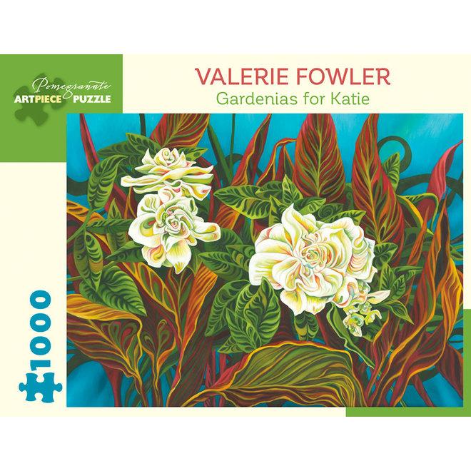 Valerie Fowler: Gardenias for Katie - 1000 pcs