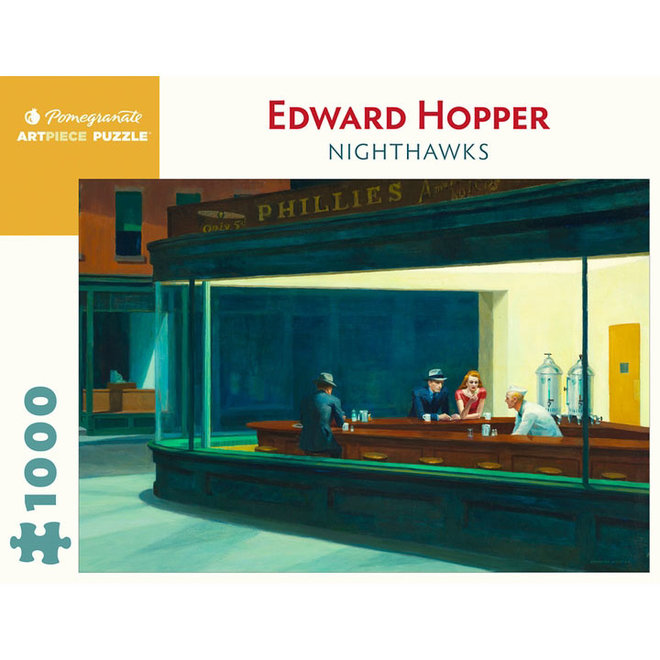 Edward Hopper: Nighthawks - 1000 pcs