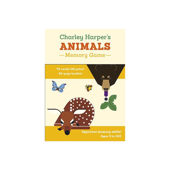 Charley Harper's Animals Memory Game