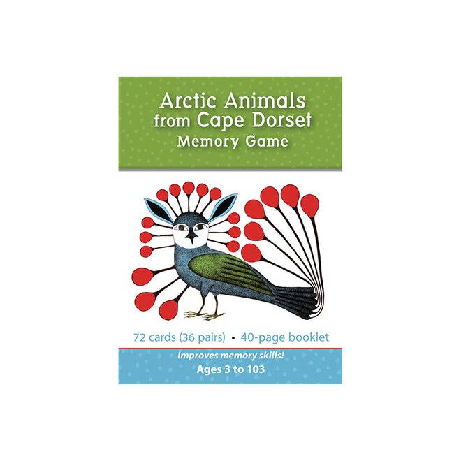 Arctic Animals from Cape Dorset Memory Game