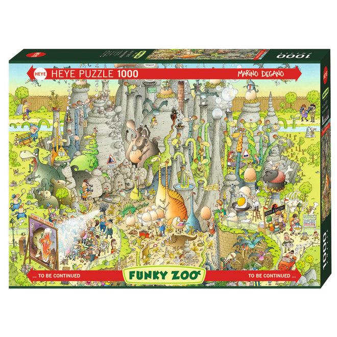Funky Zoo: Jurassic Habitat - 1000 pcs