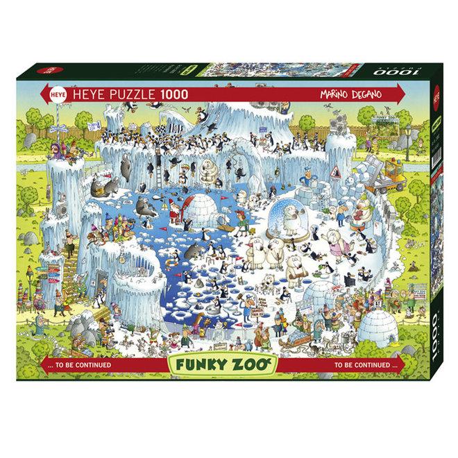 Funky Zoo: Polar Habitat - 1000 pcs