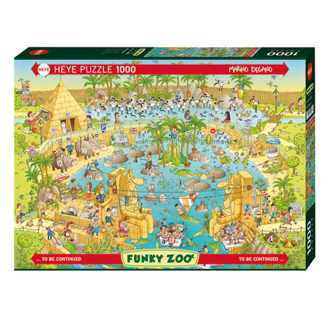 Funky Zoo: Nile Habitat - 1000 pcs