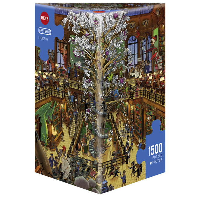 Oesterle: Library - 1500 pcs
