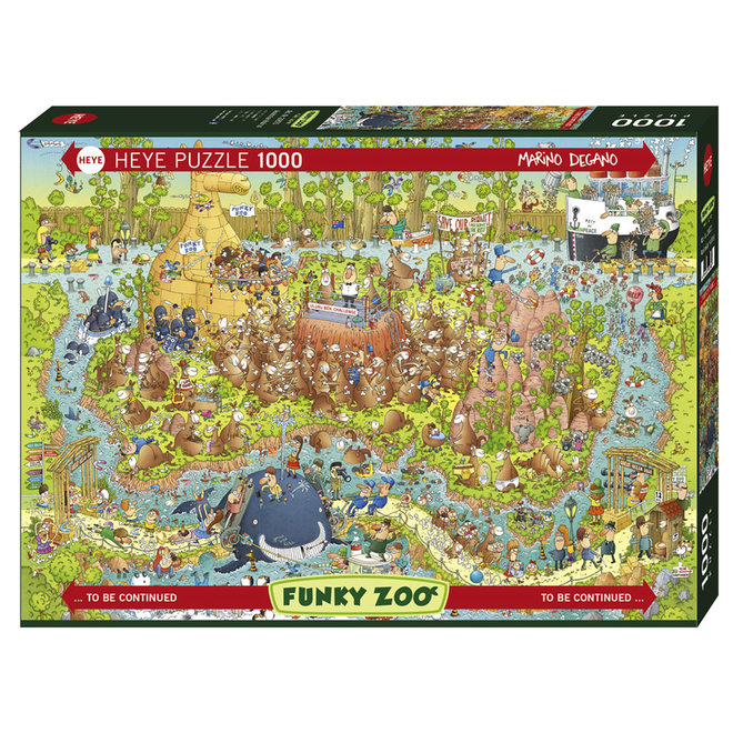 Funky Zoo: Australian Habitat - 1000 pcs
