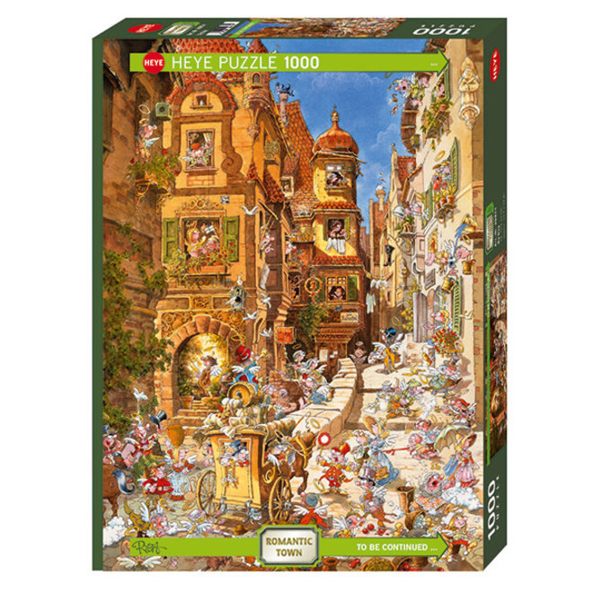 Romantic Town: By Day - 1000 pcs