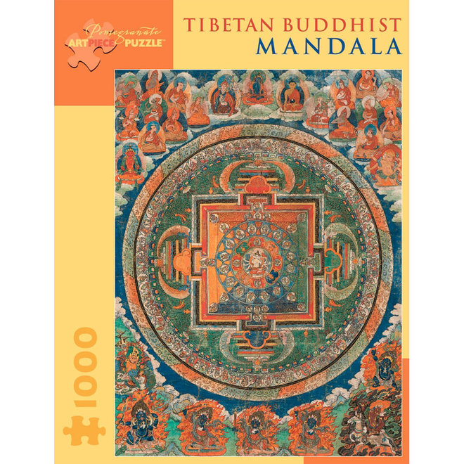 Tibetan Buddhist Mandala - 1000 pcs