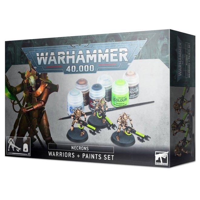 Warhammer 40,000: Necrons Warriors + Paint Set