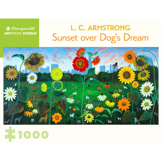 L. C. Armstrong: Sunset over Dog's Dream - 1000 pcs