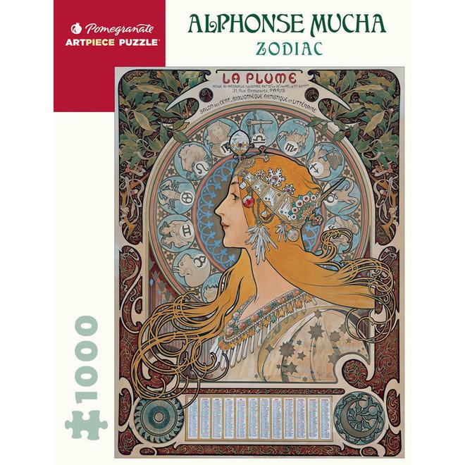 Alphonse Mucha: Zodiac - 1000 pcs
