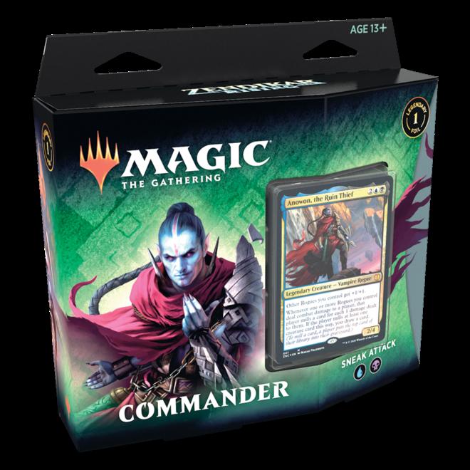 MtG: Zendikar Rising Commander Deck - Sneak Attack