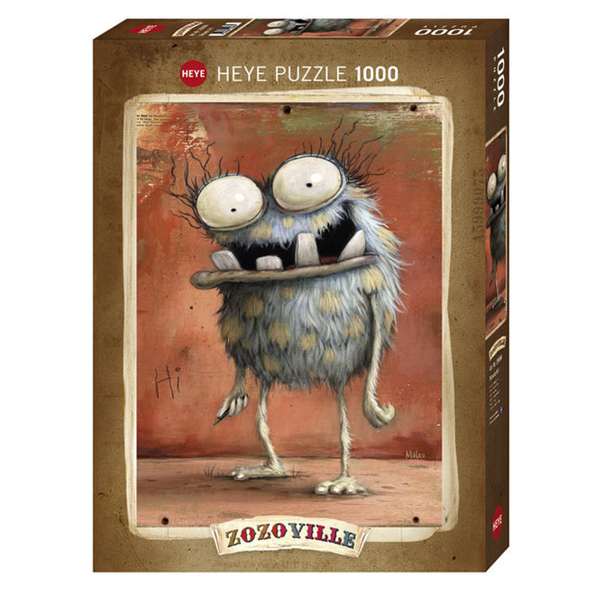 Zozoville: Monsta Hi! - 1000 pcs