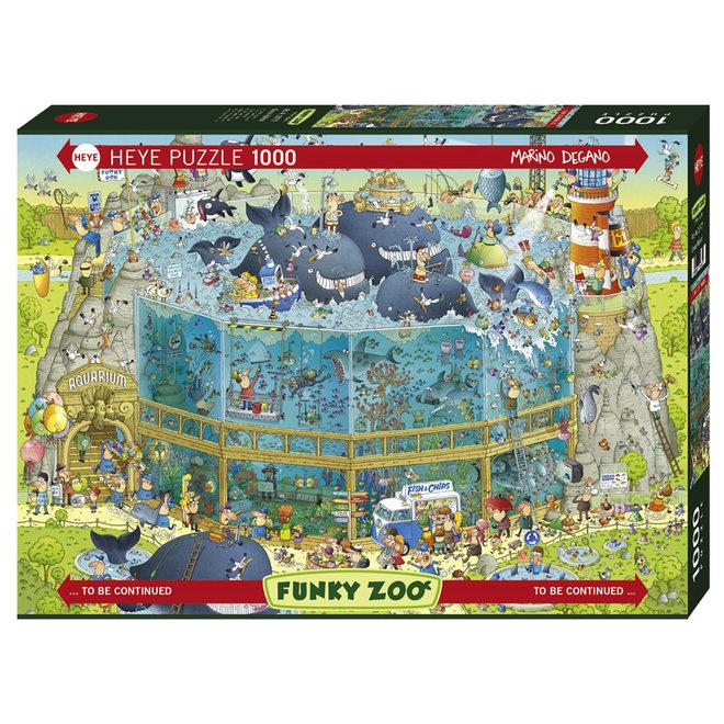 Funky Zoo: Ocean Habitat - 1000 pcs