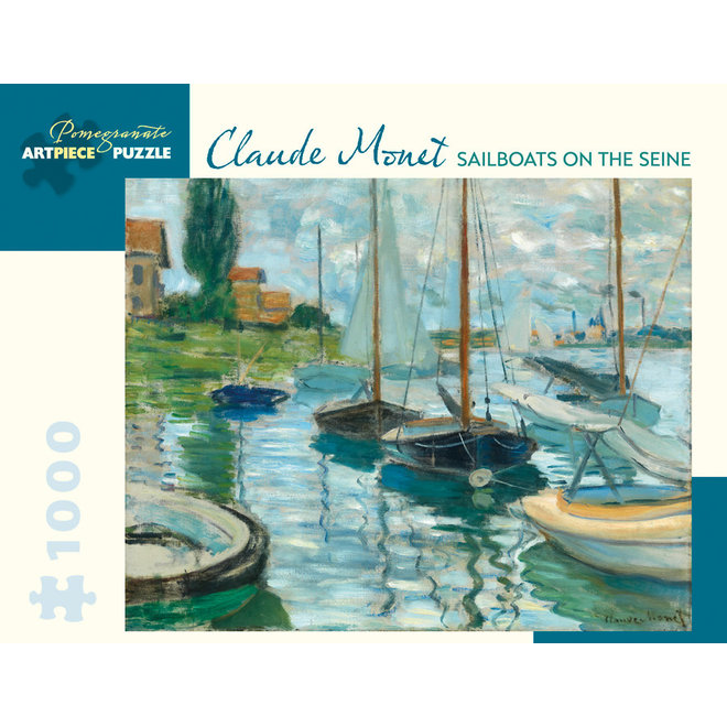 Claude Monet: Sailboats on the Seine - 1000 pcs