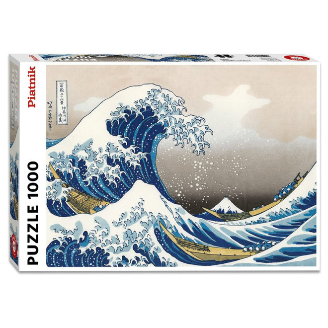 Hokusai: The Wave - 1000 pcs