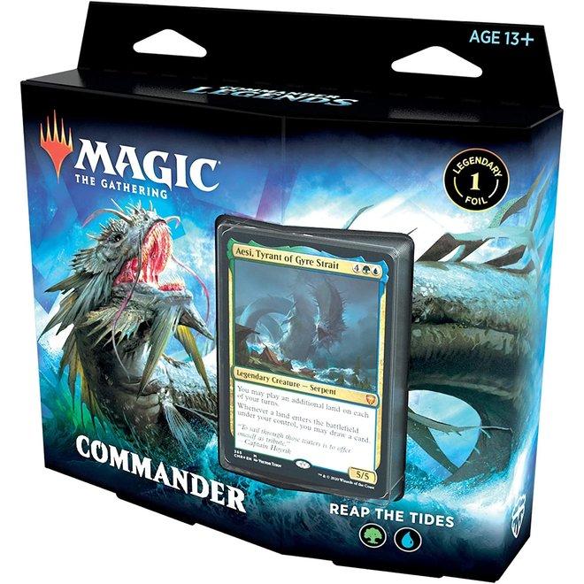 MtG: Commander Legends Commander Deck - Reap the Tides