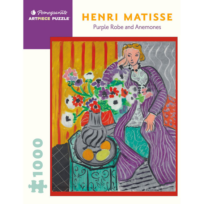 Henri Matisse: Purple Robe and Anemones - 1000 pcs