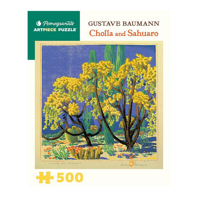 Gustave Baumann: Cholla and Sahuaro - 500 pcs