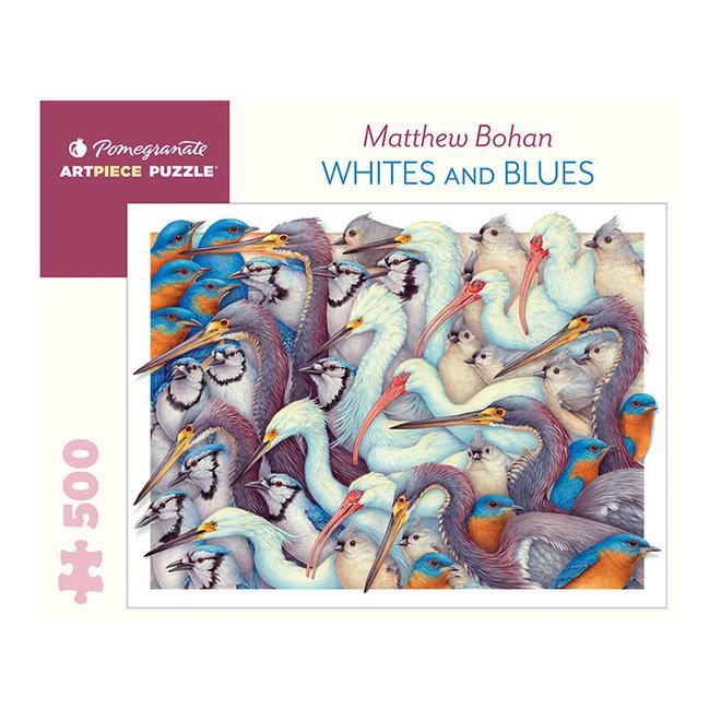 Matthew Bohan: Whites and Blues - 500 pcs