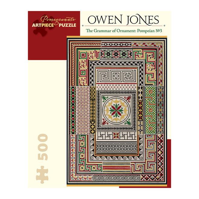 Owen Jones: The Grammar of Ornament: Pompeian No. 3 - 500 pcs