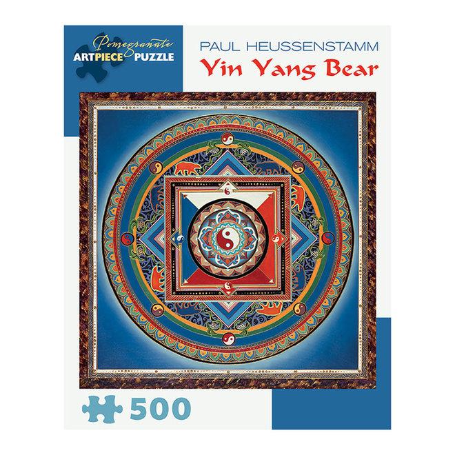 Paul Heussenstamm: Yin Yang Bear - 500 pcs