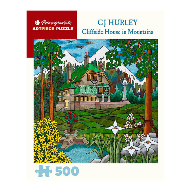 CJ Hurley: Cliffside House in Mountains - 500 pcs