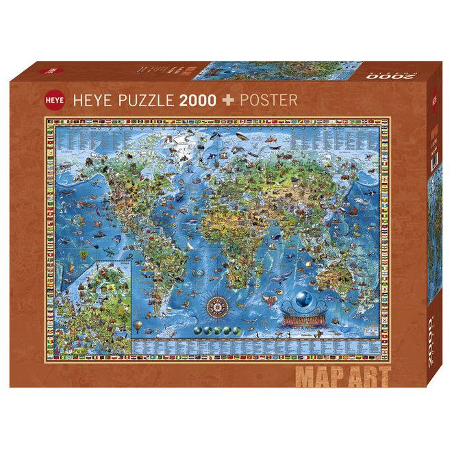 Rajko Zigic: Amazing World - 2000 pcs