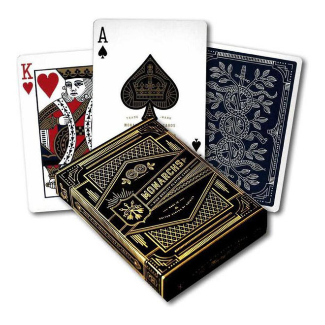 Theory-11 Blue Monarchs Playing Cards